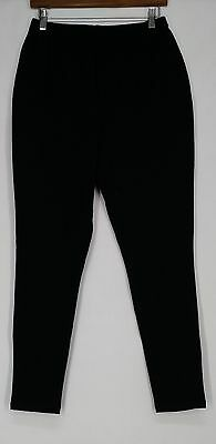 Women with Control Pants MT Elastic Waist Stretch Knit Black New