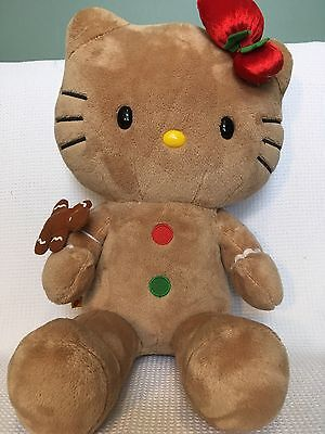 Build A Bear Hello Kitty Gingerbread Plush