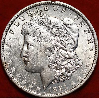 Uncirculated 1891-O New Orleans Mint Morgan Dollar Free Shipping