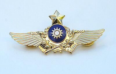 The Badge Of The Chinese Army Aviation Flight Badge Gold-33179