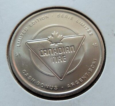 2010 Limited Edition Canadian Tire $1 Dollar Token, Bu Condition, Lot #88