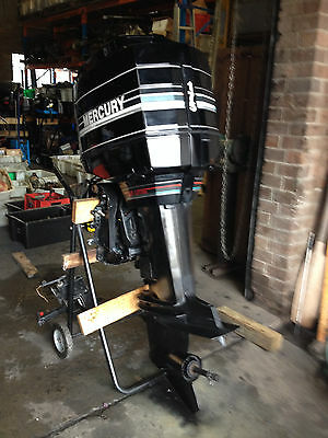 """Outboard Mercury 175hp 2.5 Litre Extra Long 25"""" Transom Oil Injected Serviced"""
