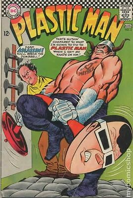 Plastic Man (1966 1st Series DC) #5 VG- 3.5 LOW GRADE