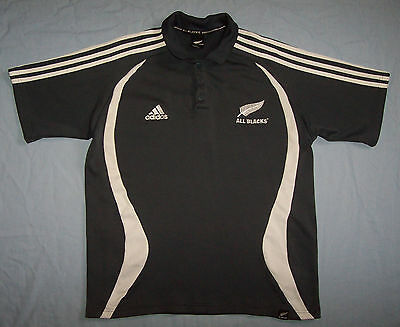 New Zealand All Blacks Rugby Union Jersey Shirt Mens Size Large L nz allblacks