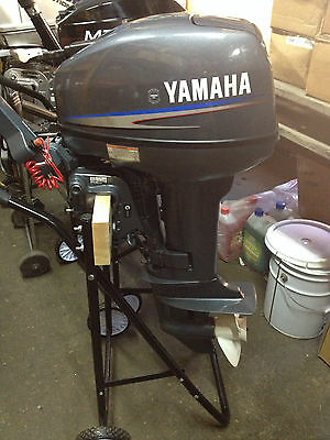 Outboard Yamaha 15hp 2013 Model Short Shaft Serviced As New Unmarked Condition