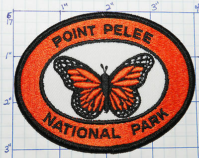 Canada, Point Pelee National Park Monarch Butterfly Ontario Souvenir Patch