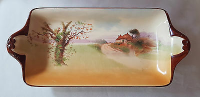 """Vintage Royal Doulton """"Country Cottages"""" Dish c1933"""