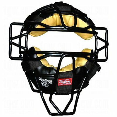 Rawlings Face Mask LWMX-B Adult Hollow Wire Lightweight Mask Black Catchers Mask