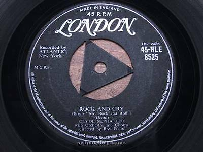 CLYDE McPHATTER = Rock And Cry = NEAR MINT = LONDON HLE 8525 = R&B Popcorn Vocal