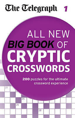 The Telegraph: All New Big Book of Cryptic Crosswords 1 (The Telegraph Puzzle Bo