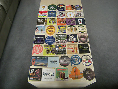 Beer Mats 40  assorted, unused