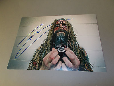 Rob Zombie signed signiert autograph Autogramm 20x28 Foto in person