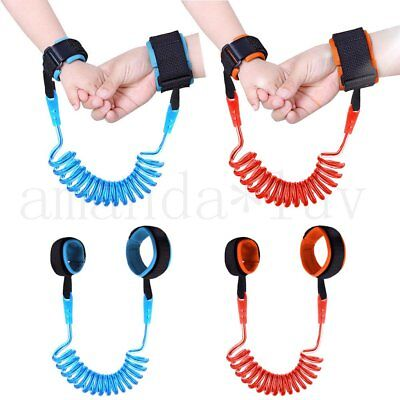 1.5 2 2.5M Toddler Kid Baby Safety Walking Anti-lost Harness Strap Wrist Belt AU