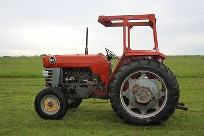 Massey Ferguson 165 Tractor With/without Loader No Vat.Shropshire Tractor