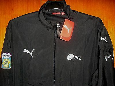 Rugby League Football RFL Jacket Shower Coat size XL by Puma Brand New