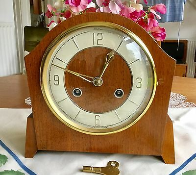 'bentima'  Perivale Striking Mantel Clock - Working With Key