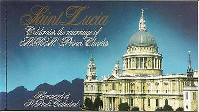 Royal Wedding Stamp Booklet 1981 - Unmounted mint