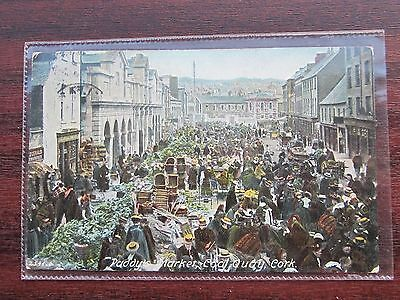 2541.6 hartmann  paddy,s market coal quay Cork, Ireland, USED 1905 POSTCARD