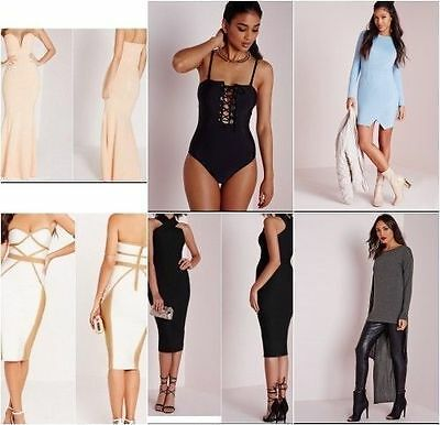 WHOLESALE JOBLOT Missguided Designer Clothing x 10 Brand New