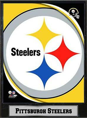 Pittsburgh Steelers Logo Wood Wall Picture 30 cm,Plaque NFL Football ,New