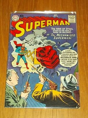 Superman #116 Vg (4.0) Dc Comics September 1957