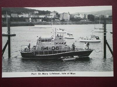 Postcard Lifeboats Port St Mary Lifeboat Gough Ritchie' 14 Aug 1988  Isle Of Man