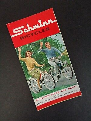 LOT OF (5) SCHWINN 1962 NOS Bicycle Sales Catalog/Brochure 62 Bike Vintage Orig