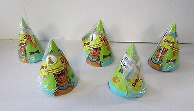 Pack of 40 Scooby Doo Cone Party Hats - Children's Birthday Parties