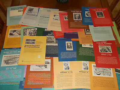 150+ 1967 TO 1970'S US Post Office Bulletin Board Stamp Issue Posters 1ST DAY