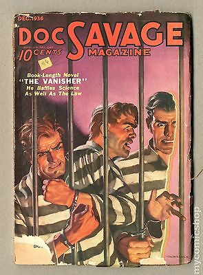 Doc Savage (1933 Street & Smith) #Volume 8, Issue 4 GD 2.0