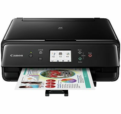 Canon Pixma TS6050 All in One Wireless WiFi Home Printer - Black - From Argos