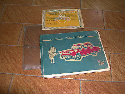 DKW  750 junior 1964 uso manutenzione owner manual RARE