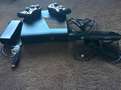 XBOX 360 BUNDLE-Console /Kinect Sensor etc-FINAL LISTING PRICE-I'm Going Away
