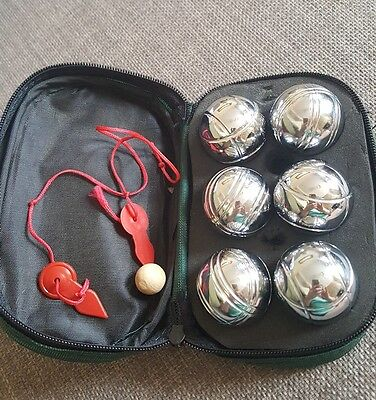 A set of French Boules
