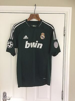 Real Madrid Rare 110 1902 -2012 Year Champions League Football Shirt Size L.