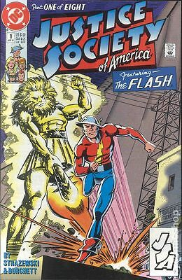 Justice Society of America (1991 1st Series) #1 FN