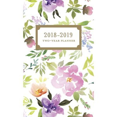 Happy Floral Two Year Pocket Planner