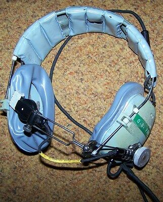 Pilot, Aircrew Headset With Mic, U.s. Issue *nice*