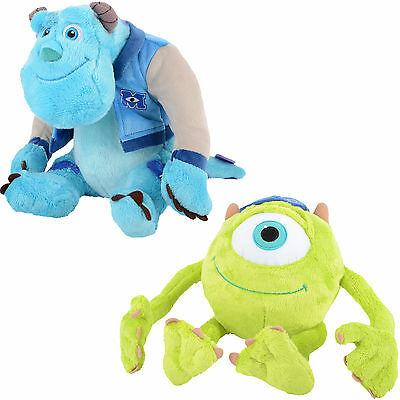 Plush Cuddly Soft Childrens Toy Mike Or Sulley Monsters University Inc. Age 0+