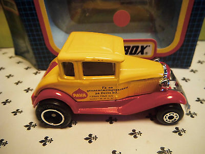 Matchbox Model MB73 Yellow PAVA Car  small  Scale