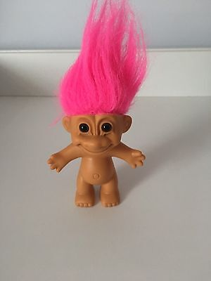 Russ Troll Doll Naked With Pink Hair