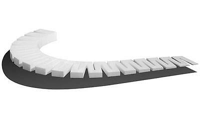 "Woodland ST1413 Subterrain 4% Incline Starters 4 pieces 0 - 1"" over 24"" long T48"