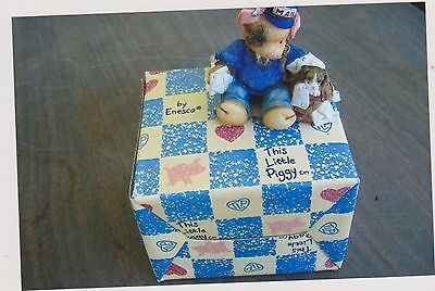 1995 This Little Piggy Porkmaster General With Box Coa
