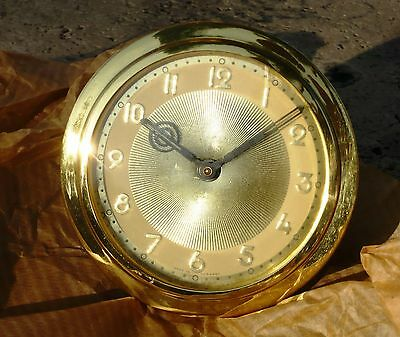 German Clock Dial and Movement antique never used mechanical clock w/box
