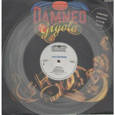 "DAMNED Gigolo 12"" VINYL 2 Track Limited Clear Vinyl B/w The Portrait (grimt6)"