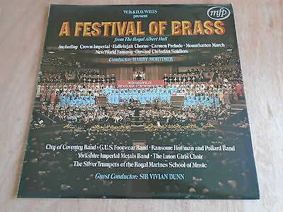 A Festival of Brass from the Royal Albert Hall LP (MfP) 1972