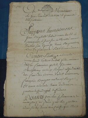 1772 Manuscript 56 Pages, Handwritten Antique Legal Document, Notary Notarial