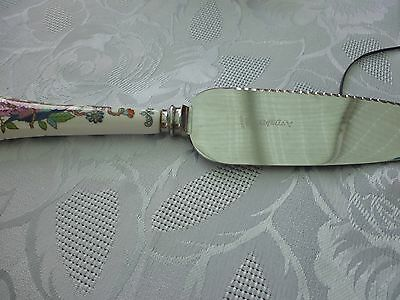 vintage aynsley china cake server in excellent condition