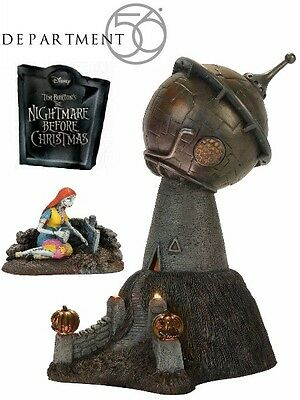 Department 56 Nightmare Before Christmas Dr. Finkelstein's Observatory Village