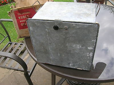 KUBEX GALVANISED OVEN  works on camping stove , 1940s/50s??